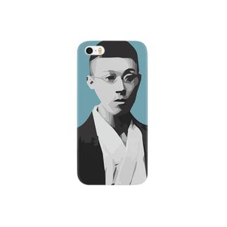 文豪・泉鏡花くん Smartphone cases
