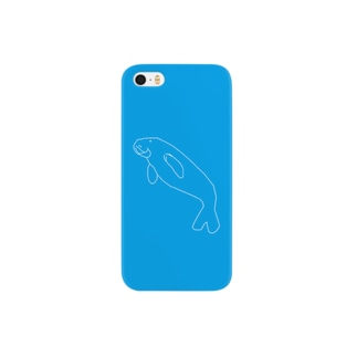 ジュゴン(破線) Smartphone cases