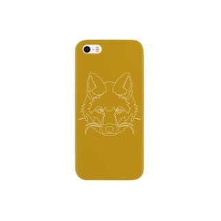 キツネ Smartphone cases