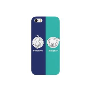 ケルベロスとスレイプニル Smartphone cases