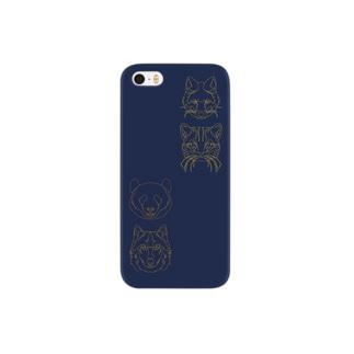 動物たち Smartphone cases