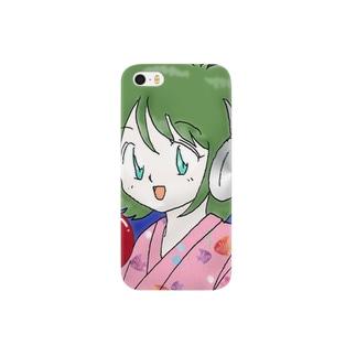 ka子の夏祭り Smartphone cases