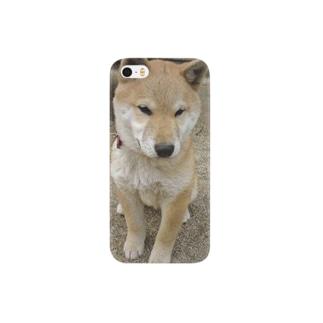 柴犬ライチ③ Smartphone cases