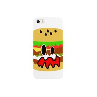 ショッキングバーガー Smartphone cases