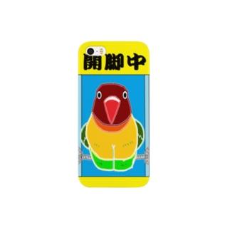 ボタンインコ@開脚中 Smartphone cases