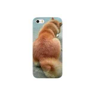 柴犬ライチ④ Smartphone cases