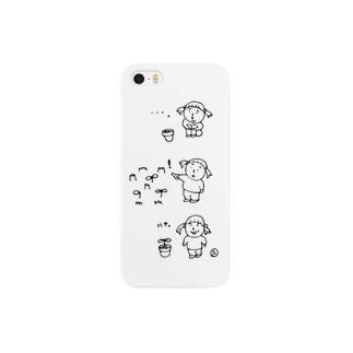 ほくそ笑む Smartphone cases