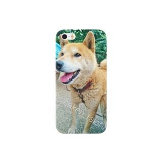 柴犬ライチ⑤ Smartphone cases
