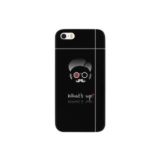 ひげメン Smartphone cases