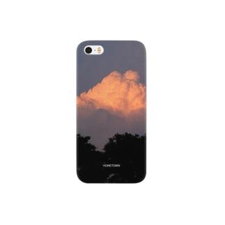 09/16 夕焼け雲 HOMETOWN Smartphone cases