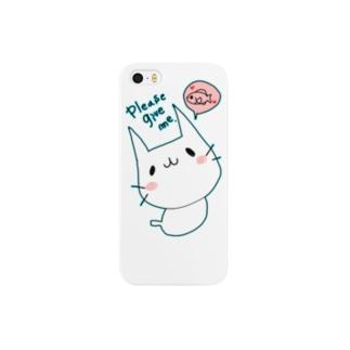 ぽよぽよにゃんこ Smartphone cases