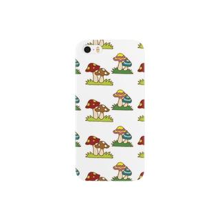 キノコ Smartphone cases