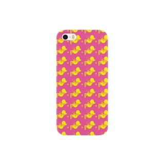 ピンクぴよ Smartphone cases