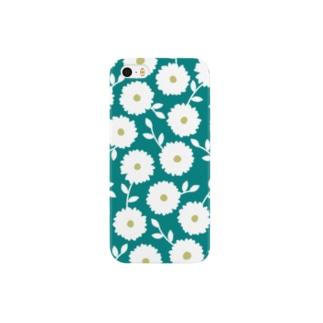 Wild Flower_BL Smartphone cases