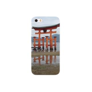 machiawaseの厳島神社 Smartphone cases