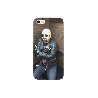 メタルゴッドおじさん Smartphone cases
