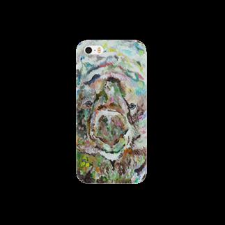 Un Petit Zooのウォンバット Smartphone cases
