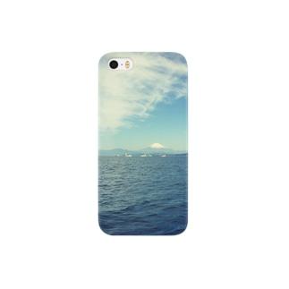 海と富士山 Smartphone cases