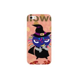 クレコちゃんもハロウィンの魔女になる? Smartphone cases