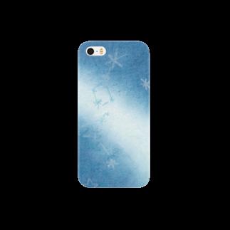 みやもりみおの天の川と夏の大三角形 Smartphone cases