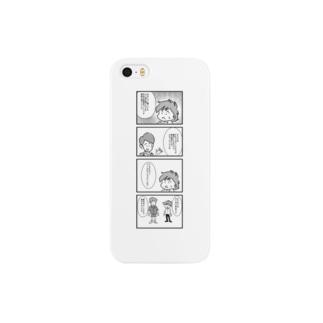 笹錦くん「クールビズ」 Smartphone cases