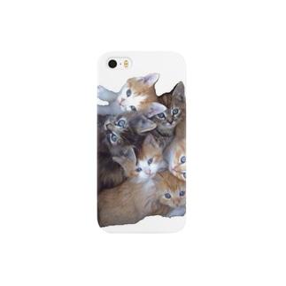 ニャンニャンズ Smartphone cases