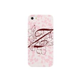 """sakura-Z-iphone"" Decorative alphabetシリーズ スマートフォンケース"