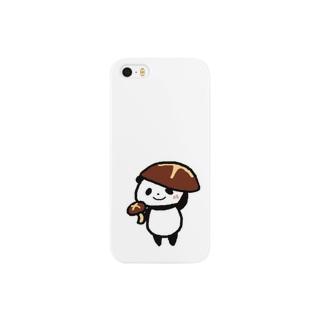 きのこなしのぱん Smartphone cases