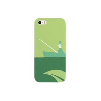 チャモロの緑ケース Smartphone cases