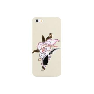 百鬼夜行絵巻 狐女【絵巻物・妖怪・かわいい】 Smartphone cases