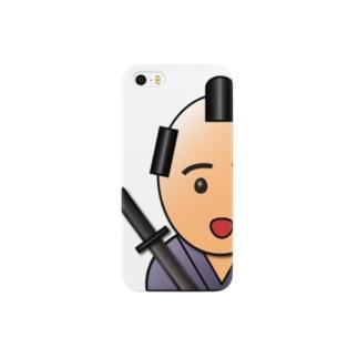 3Dサムライ【武士(モノノフ)語編】-ありがとう- スマートフォンケース
