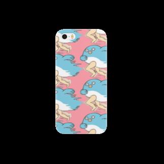 つかさの走る!鯉人間のオシャンティケース Smartphone cases