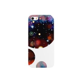 紅い星空 Smartphone cases