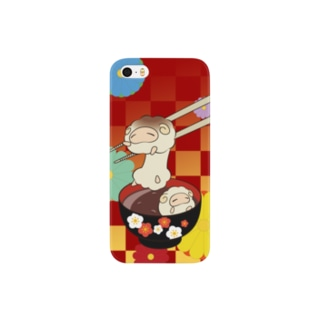 もちひつじ Smartphone cases