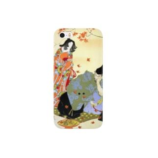 新形三十六怪撰 平惟茂戸隠山に悪鬼を退治す図【浮世絵・妖怪・能・謡曲・伝説】 Smartphone cases
