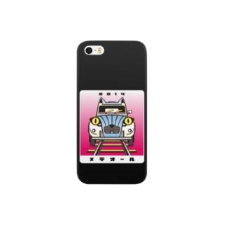 猫と鉄道と車 Atype Smartphone cases
