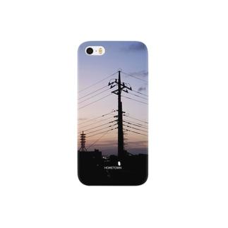 09/27 電柱の影 HOMETOWN Smartphone cases