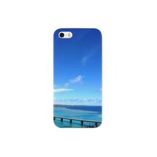 来間大橋 Smartphone cases