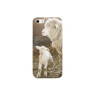 親子羊 Smartphone cases
