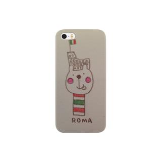 ROMAくまさんのけいたいケース Smartphone cases