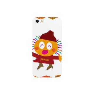 秋冬ファッションのクレコちゃん Smartphone cases