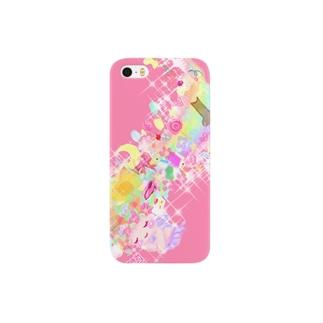 夢見る乙女のiPhoneケース Smartphone cases