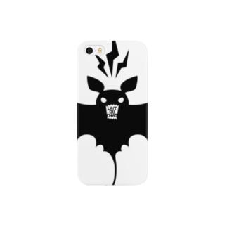 Cɐkeccooのコウモリ★シルエット Smartphone cases