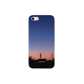 09/29 青と橙色 HOMETOWN Smartphone cases