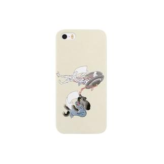 百鬼夜行絵巻 銅拍子の付喪神と黒い妖怪【絵巻物・妖怪・かわいい】 Smartphone cases