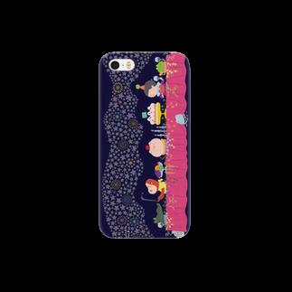 トゥインクルポケット さくま育の星空・花空・夜空 Smartphone cases