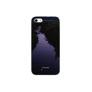 09/30 紫色の川 HOMETOWN スマートフォンケース