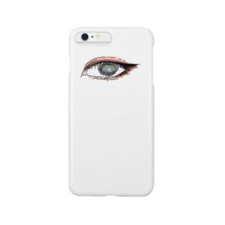 三白眼 Smartphone cases