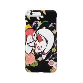 お稲荷様 Smartphone cases