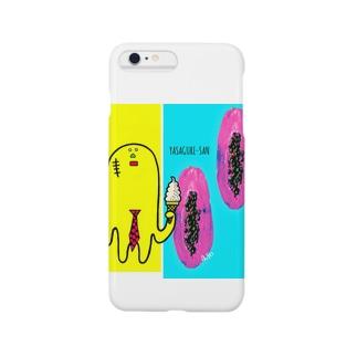 フルーティなヤサグレさん Smartphone cases
